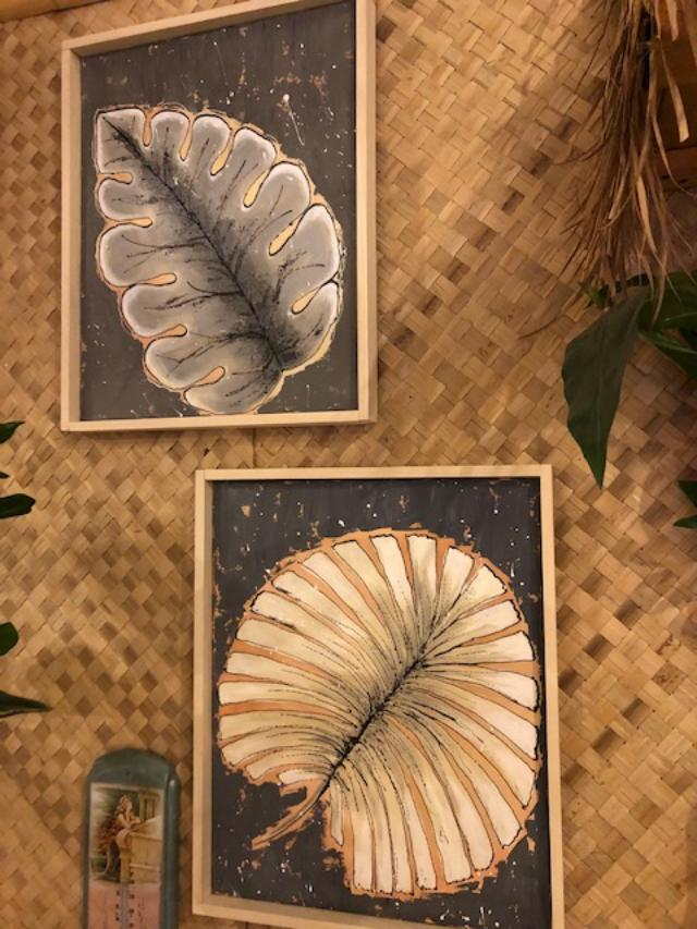 WALL HANGINGS $89 PER PC leaves